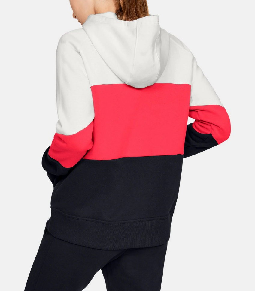 Толстовка Under Armour Rival Fleece Color block Hoodie 1353544-112 в Москве