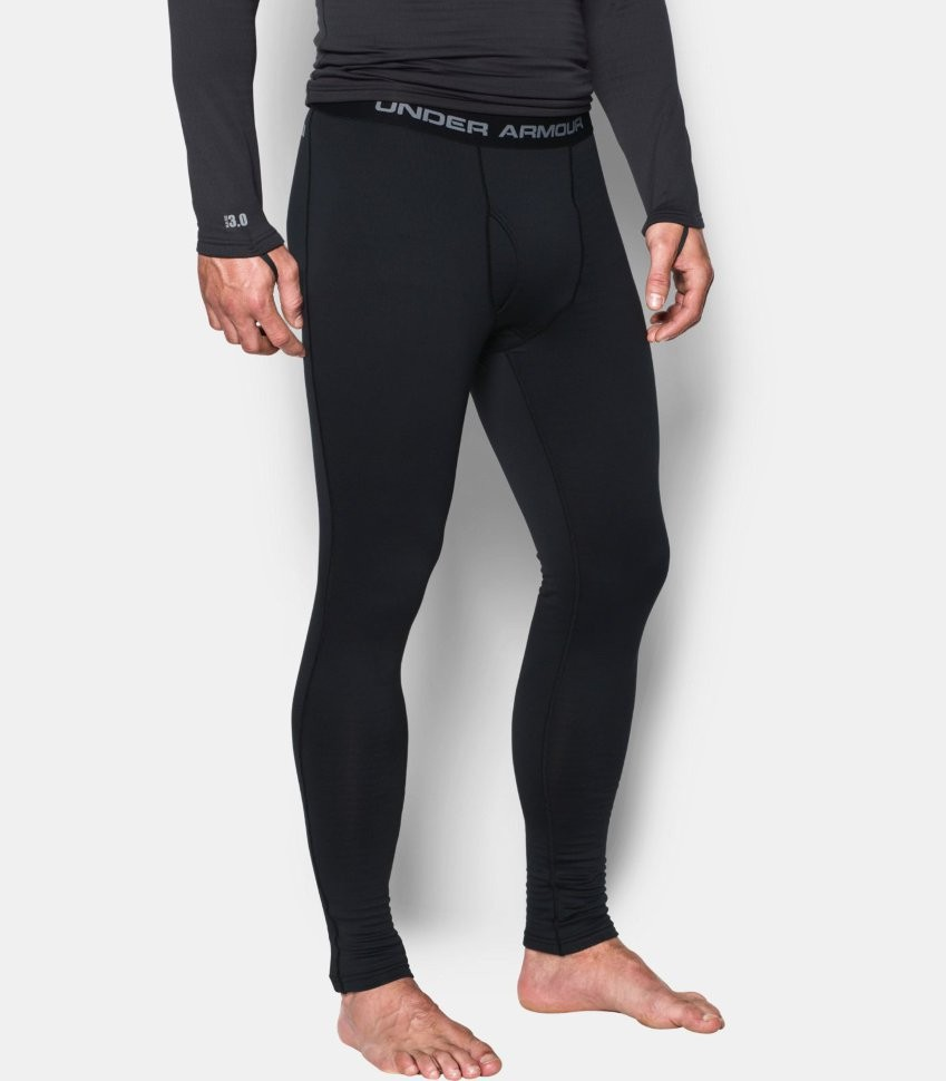 Тайтсы Under Armour UA Base 1.0 Legging-BLK 1281107-001 в Москве