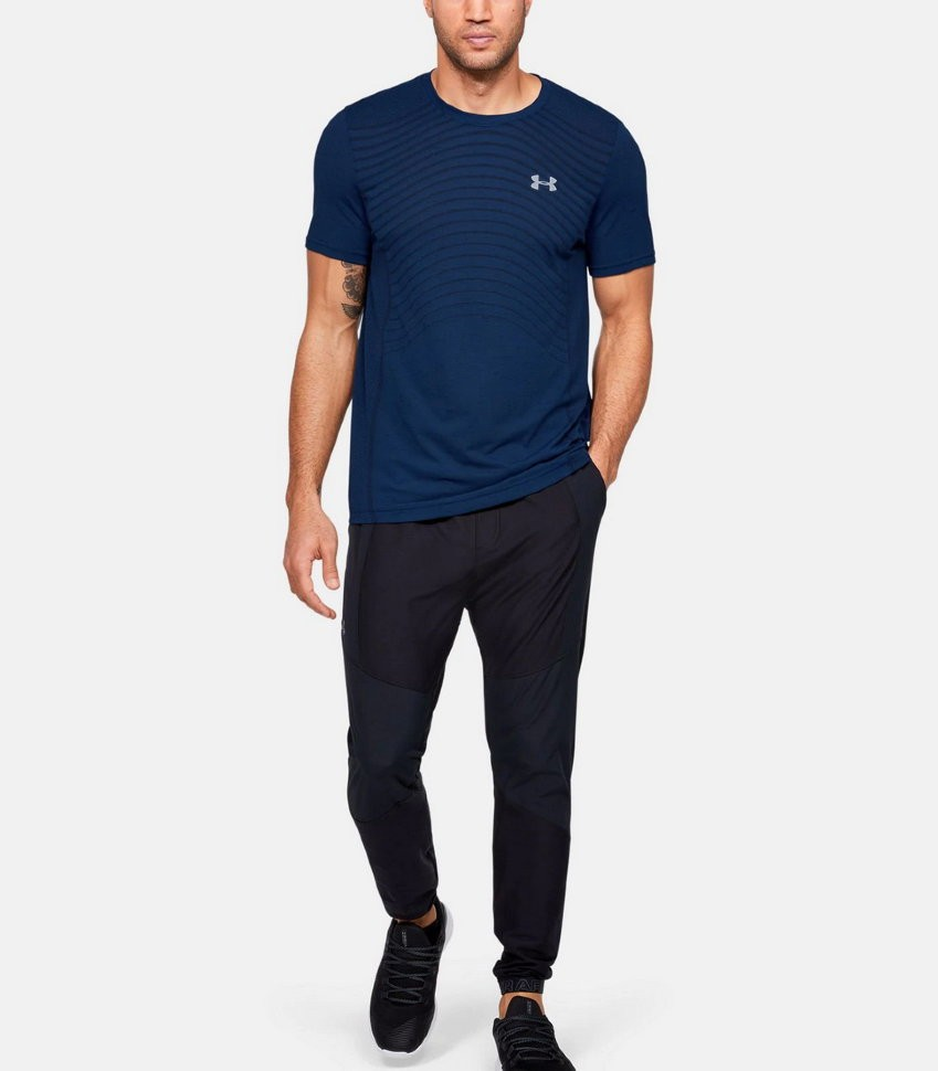 Футболка Under Armour Seamless Wave SS 1351450-449 в Москве
