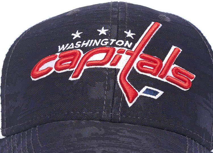 Бейсболка ATRIBUTIKA & CLUB Washington Capitals, син.-бел. 31041 в Москве