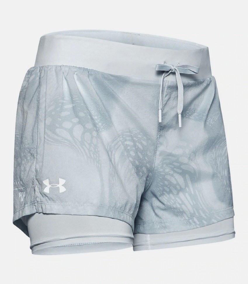 Шорты Under Armour W UA Run SpeedPocket 2-in-1 Weightless Short 1350192-014 в Москве