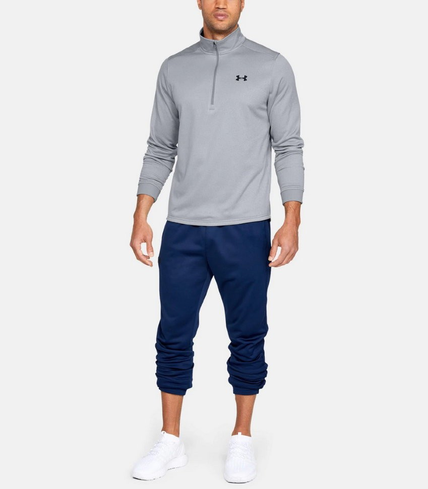 Джемпер Under Armour ARMOUR FLEECE 1/2 ZIP Steel Light Heather /  / Graphite 1320745-035 в Москве