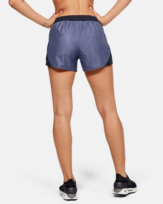 Шорты Under Armour W UA Fly By 2.0 Cire Perforated Short 1351116-497 в Москве