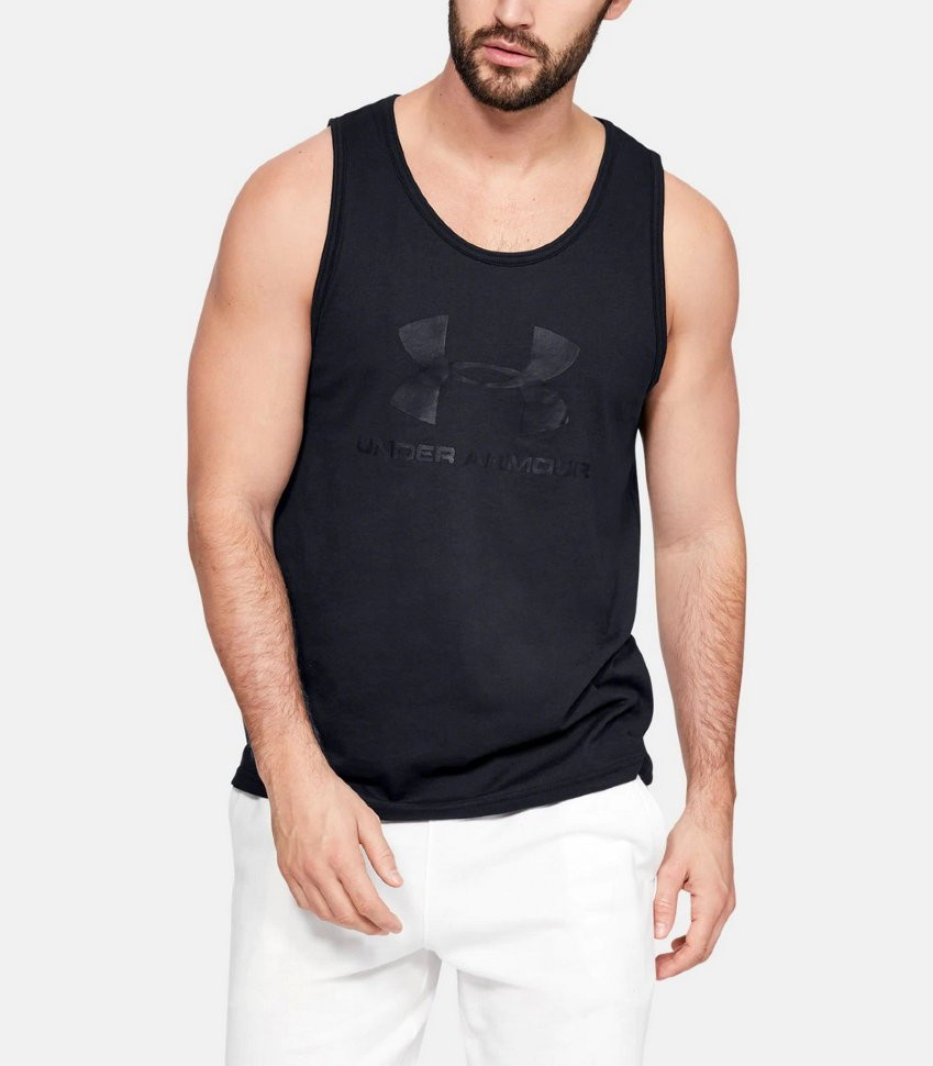 Майка Under Armour SPORTSTYLE LOGO TANK 1329589-001 в Москве